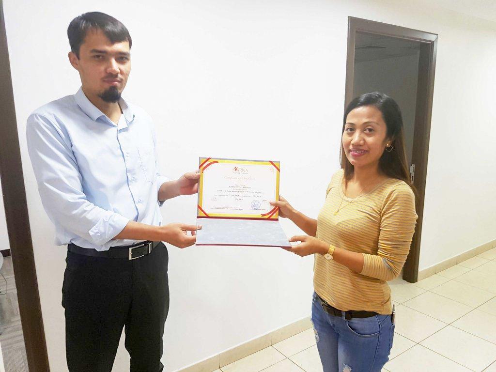 certificate 13