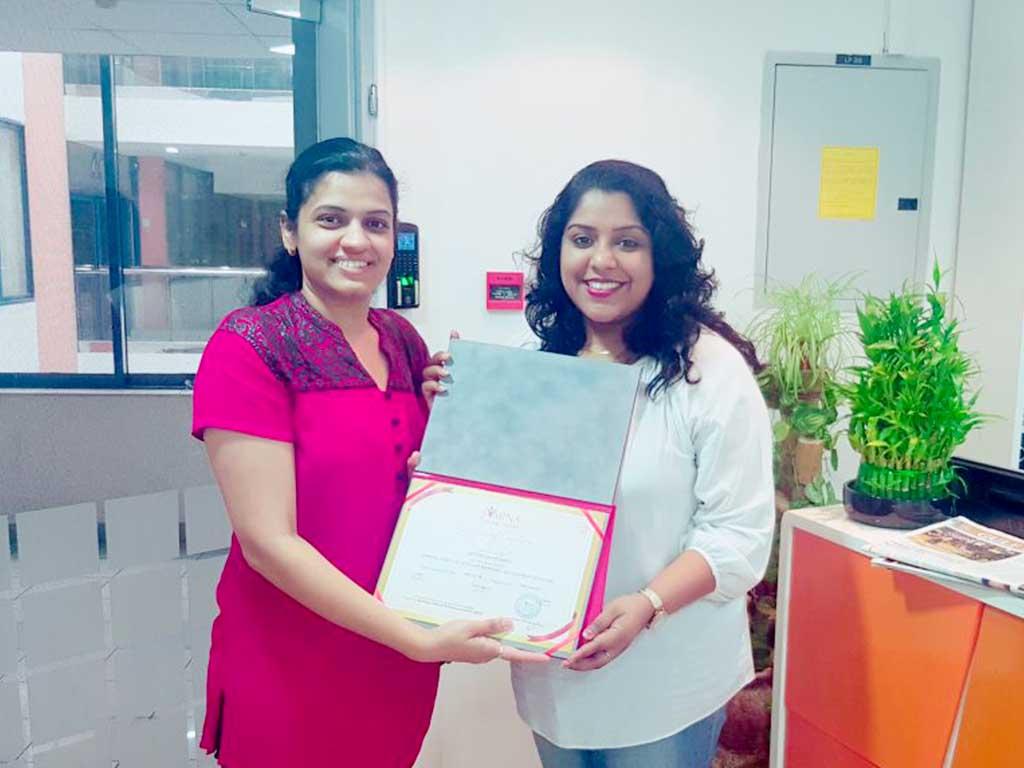 certificate 29