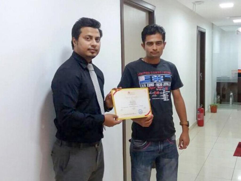 certificate 34