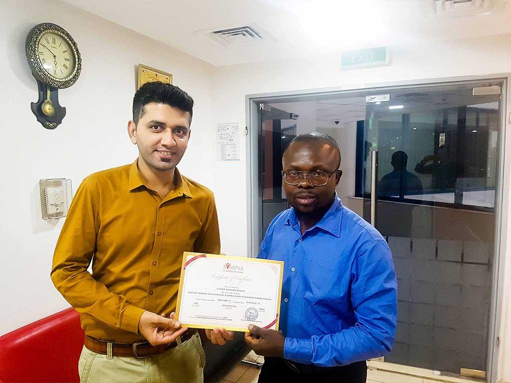 certificate 40