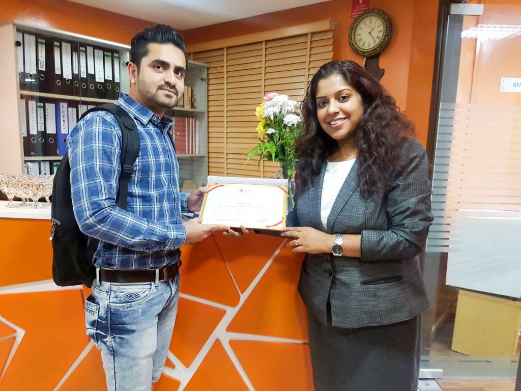 certificate 65