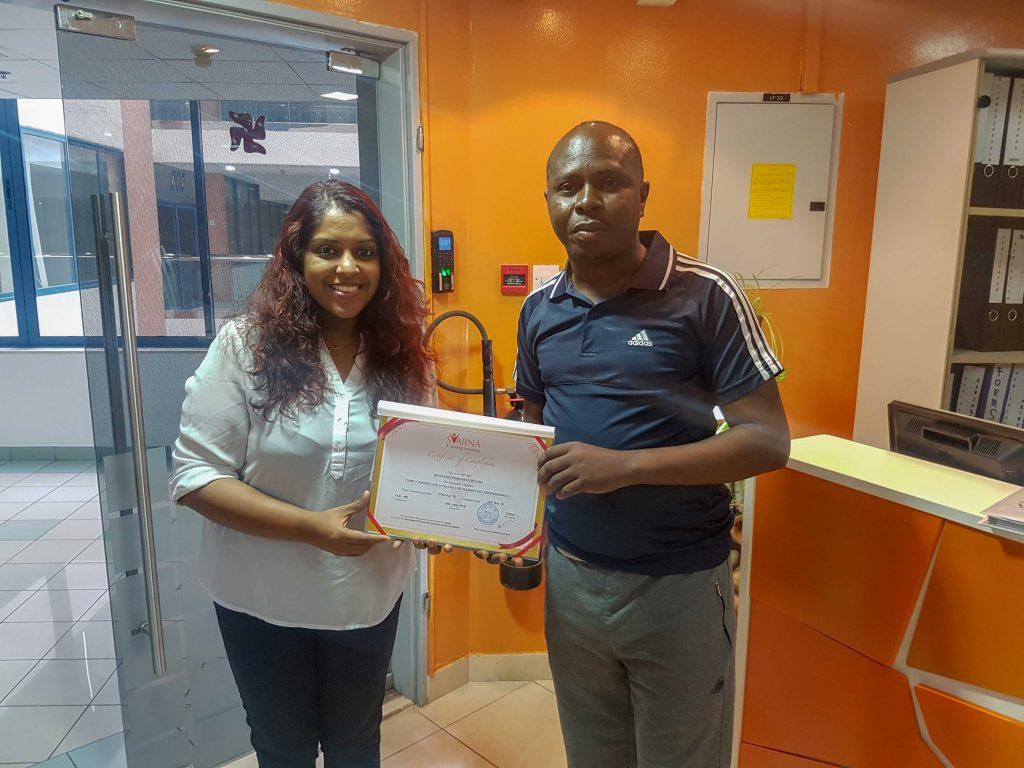 certificate 67