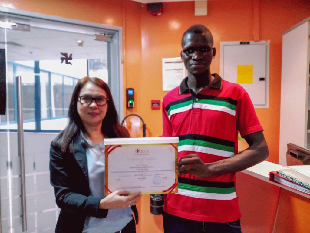 certificate 70
